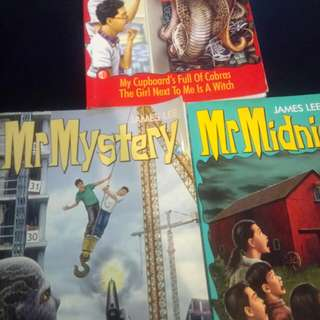 Mr Midnight and Mr Mystery Books