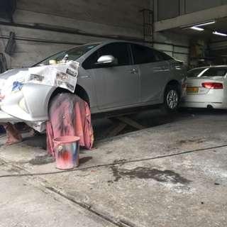 Respray and repair Body Works