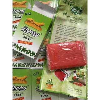 Pyary Ayurvedic Turmeric Soap👉100% Authentic 🎯Open for Reseller🎯