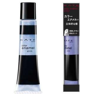 日本直送 KATE超夢幻湖水藍色唇彩colors enamel gloss