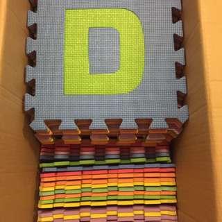 Playmat alphabets