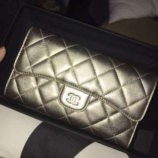 Chanel trifold