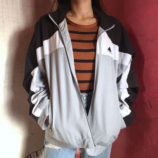 Authentic adidas windbreaker