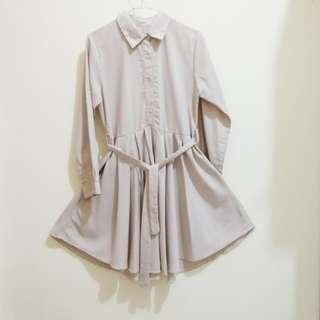 Preloved Cream Mini Dress