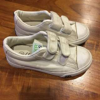 White School Shoes Boys