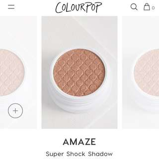 [CHEAP INSTOCK💓] COLOURPOP AMAZE SUPER SHOCK SHADOW