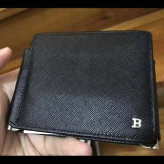 BALLY WALLET - Like new - Z-Fold with Dual Money Clips