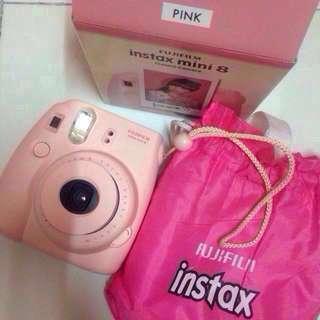 Let's Go Instax Mini 8 ( pink ) FREE POS