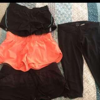 Assorted gym shorts- 2 left!