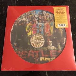 Sold. The Beatles - Sgt. Pepper's lonely hearts club band. Picture vinyl Lp. New