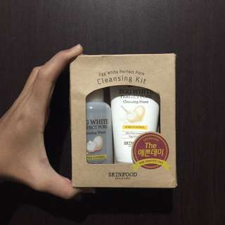 Skinfood Egg White Cleansing Kit