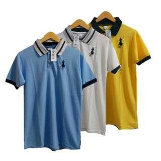 Baju kaos T-shirt Polo