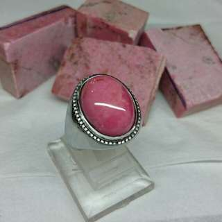 Natural Red Borneo Stone