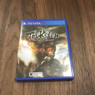 Toukiden The Age Of Demons - Ps vita