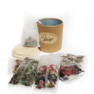 玫瑰美顏茶 #薄荷香茶 #  美白寧神茶 #滋補養生茶 #雪菊玫瑰茶