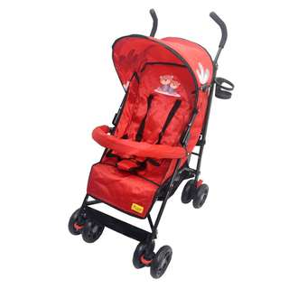 OT107 Buggy Stroller (RED, BLACK)