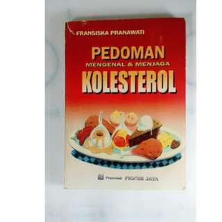 buku bekas pedoman mengenal dan menjaga kolesterol