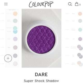 [CHEAP INSTOCK💓] COLOURPOP DARE SUPER SHOCK SHADOW