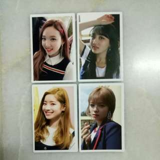 TWICE Signal Monograph Member Photocard