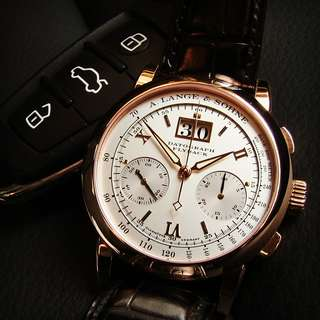 Dato 39mm Rose Gold ALS Box papers A. Lange & Sohne