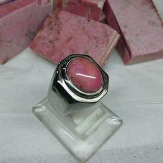 Natural Red Borneo Stone