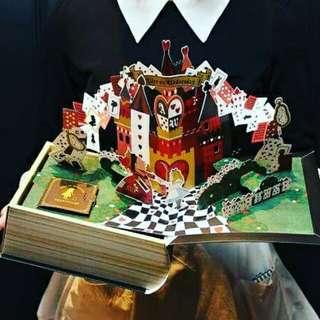[2月日本代購團] alice on wednesday水曜日的愛麗絲  立體書年輪蛋糕
