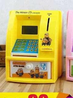 ATM Coin Bank Machine