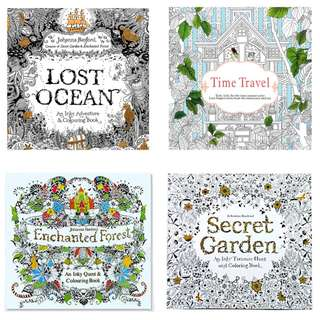 Coloring Book Adults Designs (PO)