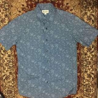 Floral Shirt Short Sleeves