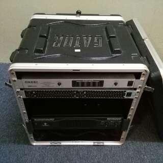 PA system. Live sound. Complete set
