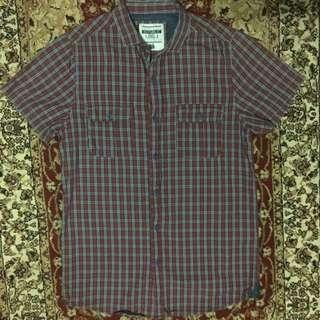 Checkered Shirt Short Sleeves