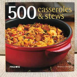 Cook Book-500 casserole & stews