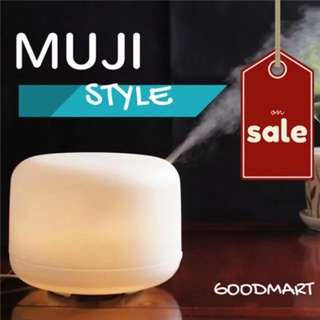 Aroma Diffuser | Humidifier 500ml MUJI Inspired Essential Oil Diffuser