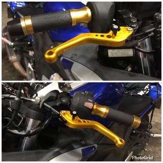 Lextek lever set MT03 FZ1 FZ8 R3 Duke 200 cb400x nc750x
