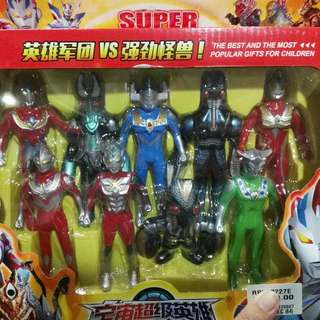 9in1 Ultraman Set