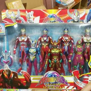 7in1 Ultraman Set