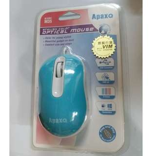 ApaxQ optical mouse (blue)