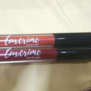 Luxcrime Liquid Lipstick
