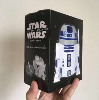 Star Wars: The Force Awakens - R2D2 Cereal & Milk Container Limited Edition
