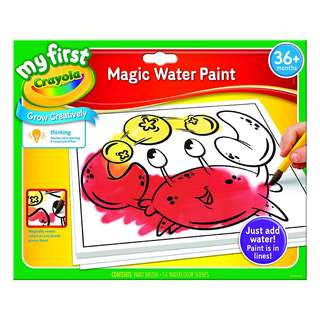 BRAND NEW Crayola My First Magic Water Paint Set, Toddler Art Supplies, No Paint Needed