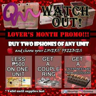 Valentine's Promo for iPhones