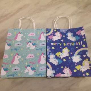 Little pony paper bag