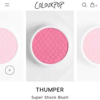 [CHEAP INSTOCK💓] COLOURPOP THUMPER SUPER SHOCK CHEEK