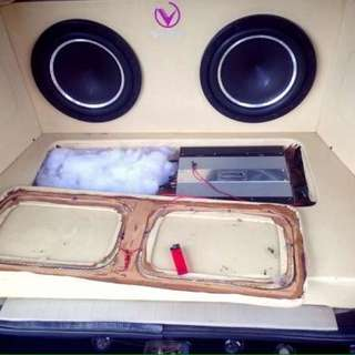 Box Speaker Custom Xenia Avanza