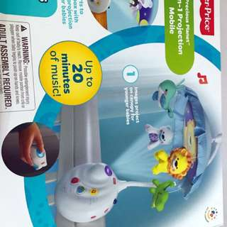 Fisher's price projection mobile