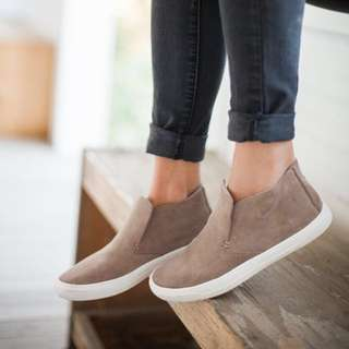 Dolce Vita Suede Slip On Sneakers