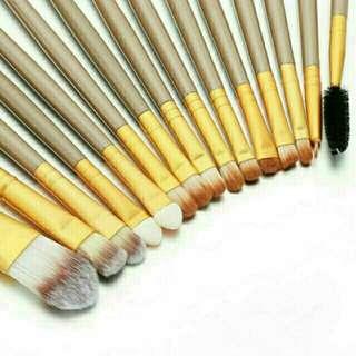 (15 pcs) Makeup Brush