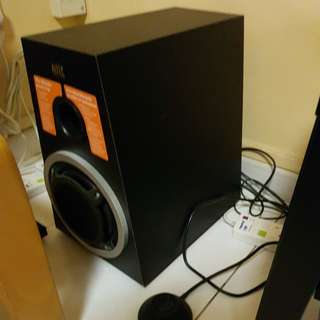 Open House Sale: Sound System, Convenience Table, foot stool, fans, cooler, portable aircon, ikea lights, etc