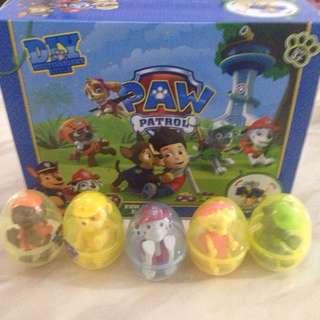 Paw patrol pet eggs