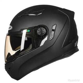 Z Race series model Matt black helmet